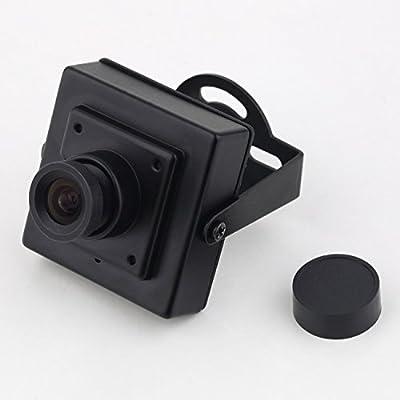 Crazepony® 700TVL NTSC Format CCD CCTV Video FPV Camera QAV250 QAV400 Quadcopter (Black)