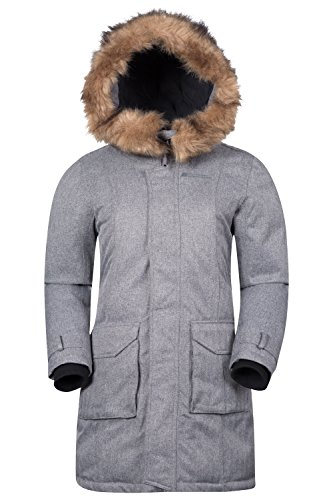 Mountain Warehouse Giacca in piumino Donna Aurora Grigio scuro 46