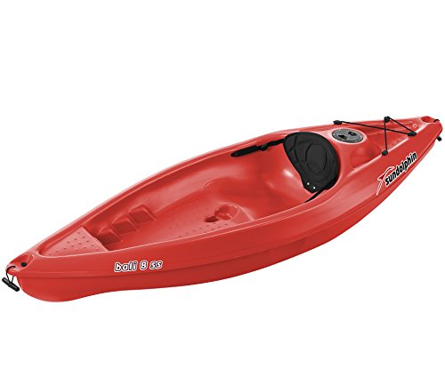Sun Dolphin Bali ss sit-on-top Kayak, 8-Feet, Red