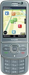 Nokia 6710 Navigator titanium (GPS, A-GPS, UMTS, MP3, Kamera mit 5 MP, Ovi Karten) Handy