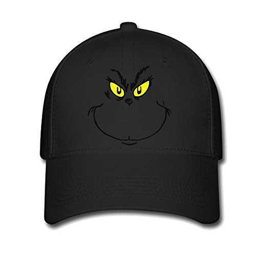 WORLD The Grinch Stole Christmas Unisex Adjustable Baseball Hat & Cap (Grinch Hat)