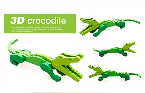 Thinkmax 3-D Wooden Puzzle Affordable Gift For Your Little One!£¨Crocodile£© front-882262