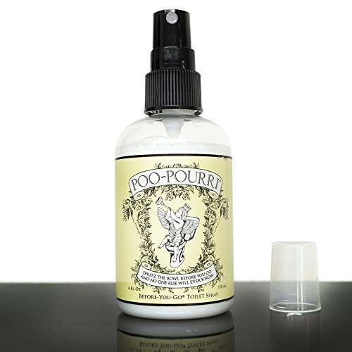 Poo-Pourri Before-You-Go Toilet Spray 4-Ounce Bottle, Original Citrus Scent