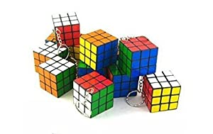 Set of 6 Magic cube key chains