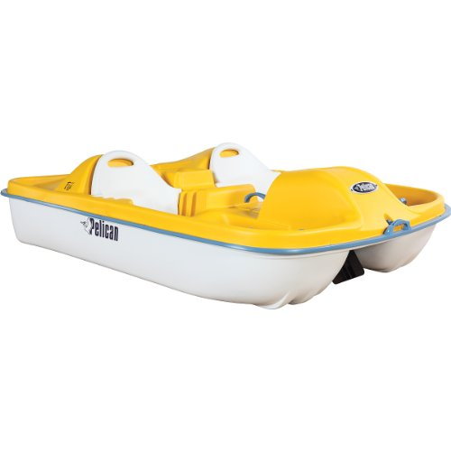 Buy Low Price Pelican Fuji Pedal Boat Yellow / White (B007DE4IYK)