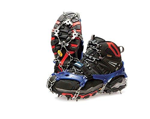10-6-1122inch-Spike-Taille-L-8-5-10-UK-Crampons-glace-neige-grimpant-Eisen-fers-Bleu