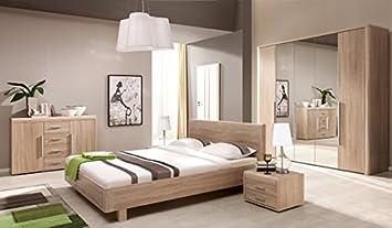 Bedroom furniture set 5407 4 pieces sonoma oak