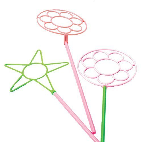 Us toy giant neon bubble wands pk of 12 assorted for Giant bubble wand