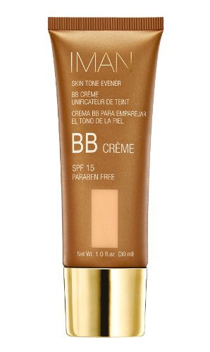 Iman Cosmetics BB Crème Unificateur de Teint SPF 15 Sand Medium