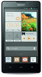 Huawei Ascend G700 Smartphone (12,7 cm (5 Zoll) Touchscreen, 8 Megapixel Kamera, 8 GB Interner Speicher, Android 4.2) weiß