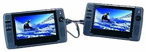 Sylvania SDVD9104 9-Inch Dual Screen DVD Player with USB/SD Card Reader (Black)