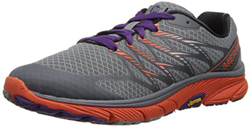 Merrell Women's Bare Access Ultra Trail Running Shoe,Monument/Tanga,8 M US