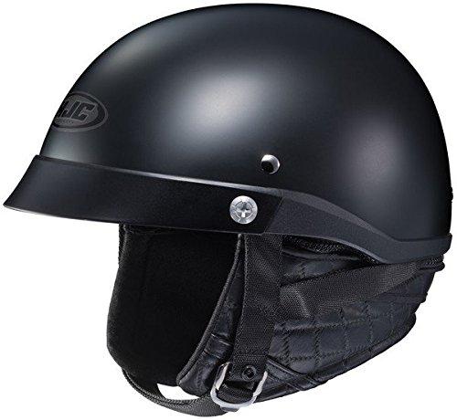 Hjc Cl-ironroad Matte Black SIZE:XXL Open Face Motorcycle Helmet