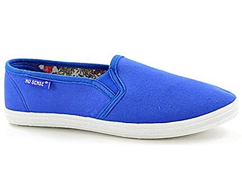 Foster Footwear - Espadrille da ragazza' donna , Blu (Royal Blue), 36.5