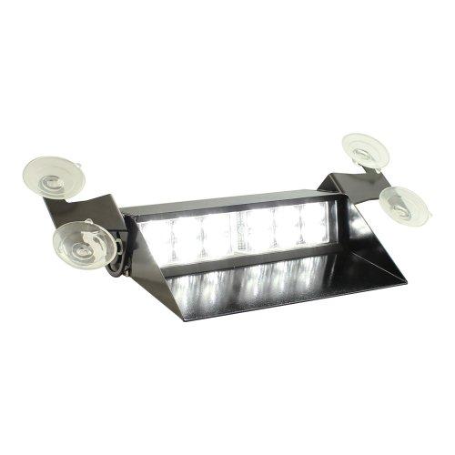 Lamphus Solarblast 12W Led Emergency Vehicle Windshield Dashboard Strobe Warning Light ( Other Color Available ) - White