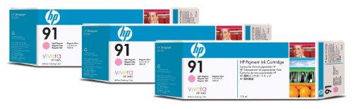 Ink cartridge Hp 91 light magenta 3pk 3 ink cartridges 775 ml each (C9487A)