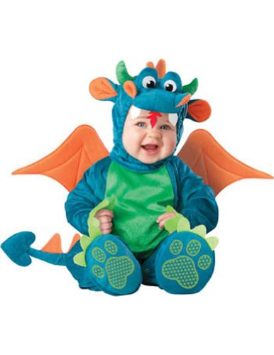Baby-boys - Dinky Dragon Toddler Costume 12-18 Mon Halloween Costume