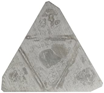 "Sandvik Coromant T-MAX MILLING  Carbide Milling Insert, TFA Style, Triangle, H10 Grade, Uncoated, TFA42P3R,0.125"" Thick, 0"" Corner Radius (Pack of 10)"