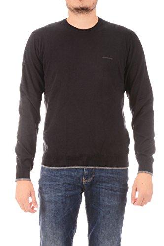 ARMANI JEANS - Pullover uomo girocollo 8n6m95 xxl nero