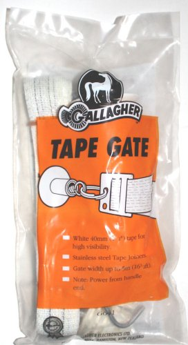 Gallagher G641 Electric Fence Tape Gate For Opening Up To 16 1/2'