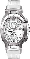 Tissot Womens T048.217.17.017.00 White Dial T Race Watch
