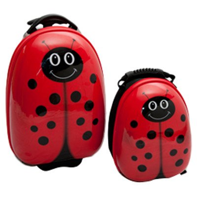 2-piece-lola-ladybug-childrens-luggage-set