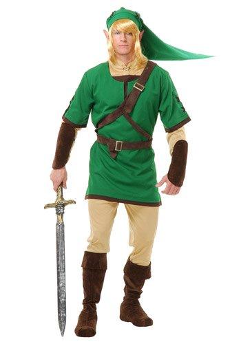 Adult Elf Warrior Costume - Nintendo Link Zelda Costume