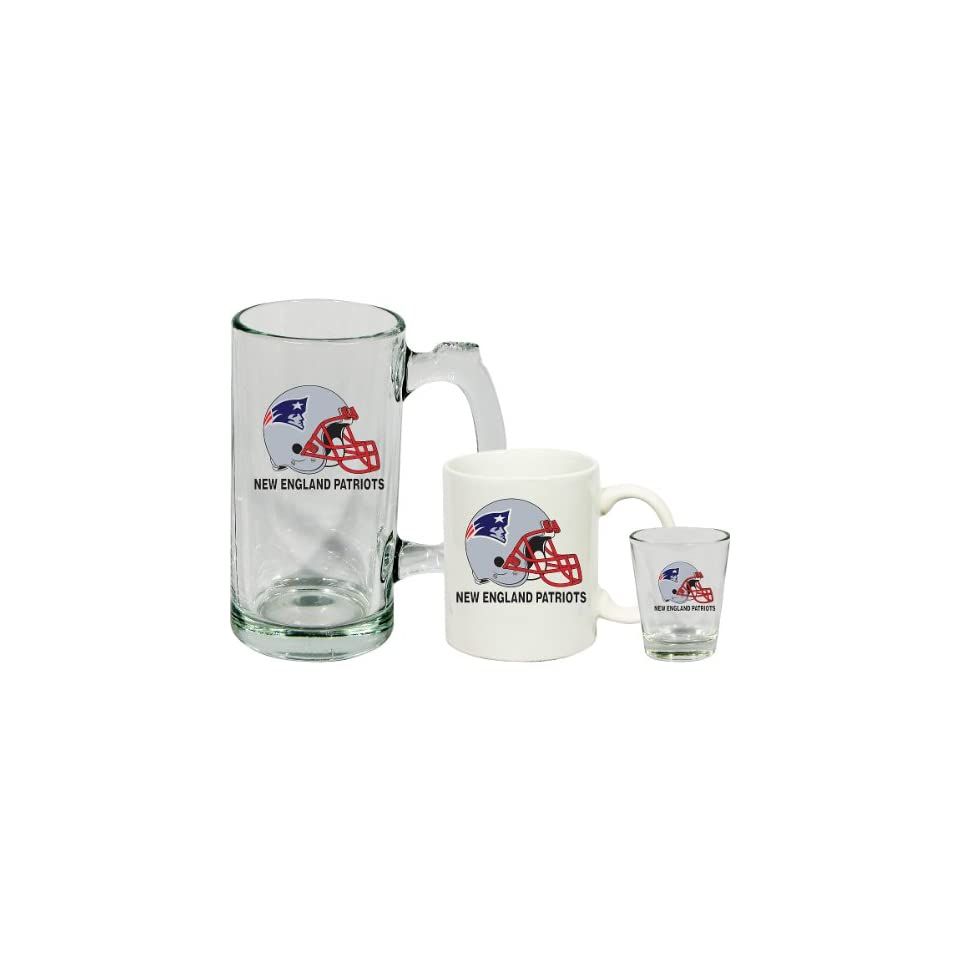 Hunter New England Patriots Drinkware Fan Pack  Set of 3