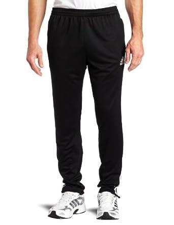 adidas Men's Tiro 11 Pant, Black/White, Small