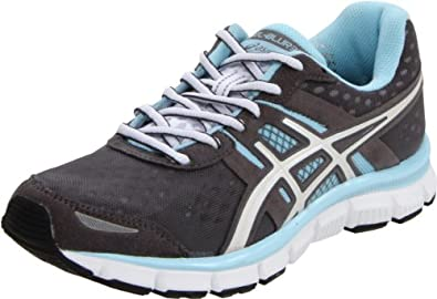 ASICS Women's GEL-Blur33 Running Shoe,Titanium/White/Ice Blue,6.5 M US