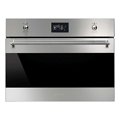 Smeg Classic SF4390VCX Built In Oven Combination Steam Stainless Steel