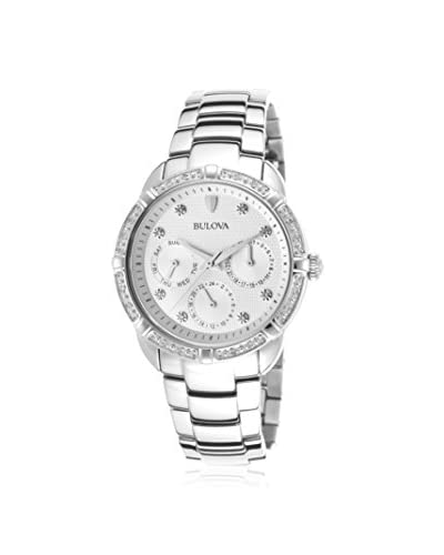 Bulova Women's 96R195 Multi-Function Dial Stainless Steel  Watch