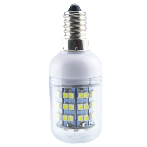 Jombo A Piece Of Energy Saving 280Lm Day White Corn Light Lamp Bulb E14 60 Smd 3528 Led 6000-6500K Equivalent Halogen 40W With Transparent Cover