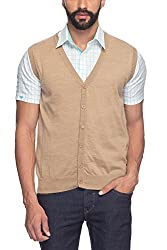 Raymond Medium Khaki Men's Sweater