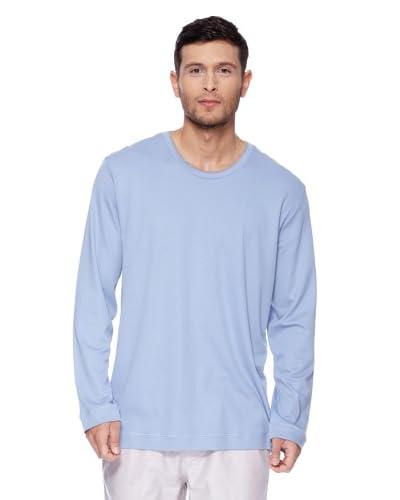 Hanro Schlafshirt Soho Azul Claro