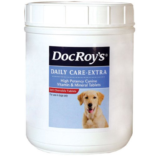 Doc Roys Daily Care Extra Canine Tabs 365Ct