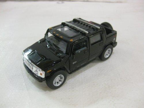 2005 Hummer H2 SUT In Black Diecast 1:40 Scale By Kinsmart