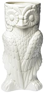 Two's Company Owl Umbrella Stand/Vase - Ceramic