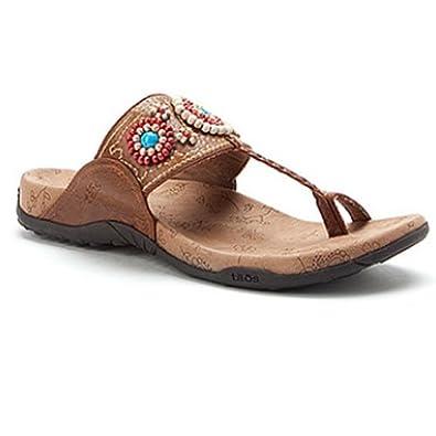 taos s wooden beaded toe loop