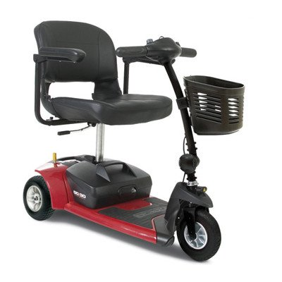 Go Go Travel Vehicle Ultra X 4 Wheel Scooter Color: Red