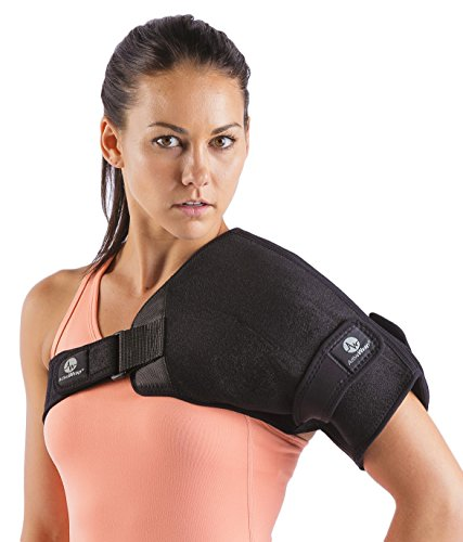 Shoulder Ice/Heat Wrap For Shoulder Injuries - Provides Firm Compression To The Left & Right Shoulder. Built With Adjustable Straps. Allows Mobility While Being Applied. BAWSH10 By ActiveWrap (How To Make The Ch compare prices)