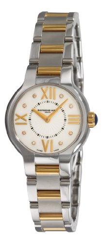 Raymond Weil Women's 5927-STP-00995 Noemia Two tone Diamond Dial Watch