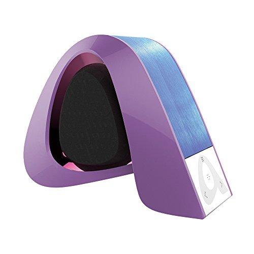 bluetooth 4 0 haut parleur portable puissant en abs avec microphone int gr de communication. Black Bedroom Furniture Sets. Home Design Ideas