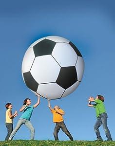 Gigantic 6-Feet Inflatable Jumbo Soccer Ball