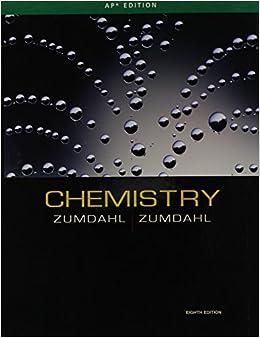 Ap chemistry textbook zumdahl