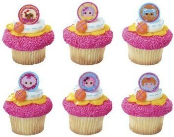 Lalaloopsy Friends Together Cupcake Rings - 24 pcs - 1