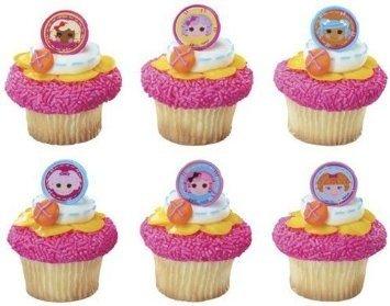 Lalaloopsy Friends Together Cupcake Rings - 24 pcs