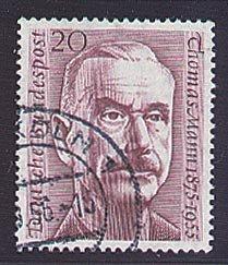 Goldhahn BRD Nr. 237 gestempelt Mann- Briefmarken für Sammler