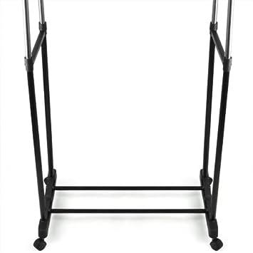 smallwise trading hot h heverstellbar bis 155 cm stabiler doppelkleiderst nder mit zwei. Black Bedroom Furniture Sets. Home Design Ideas