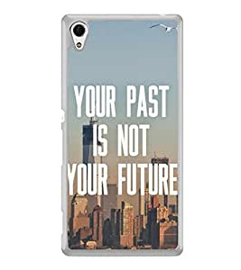 Life Quote 2D Hard Polycarbonate Designer Back Case Cover for Sony Xperia Z4